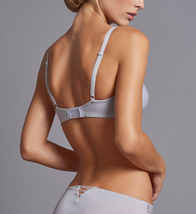 Charade Theresa Full Shaper bra Silver Grey