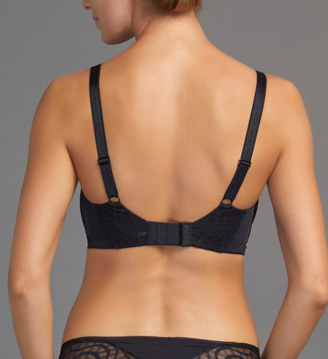 Change Lyra Full Shaper bra Black With Nude