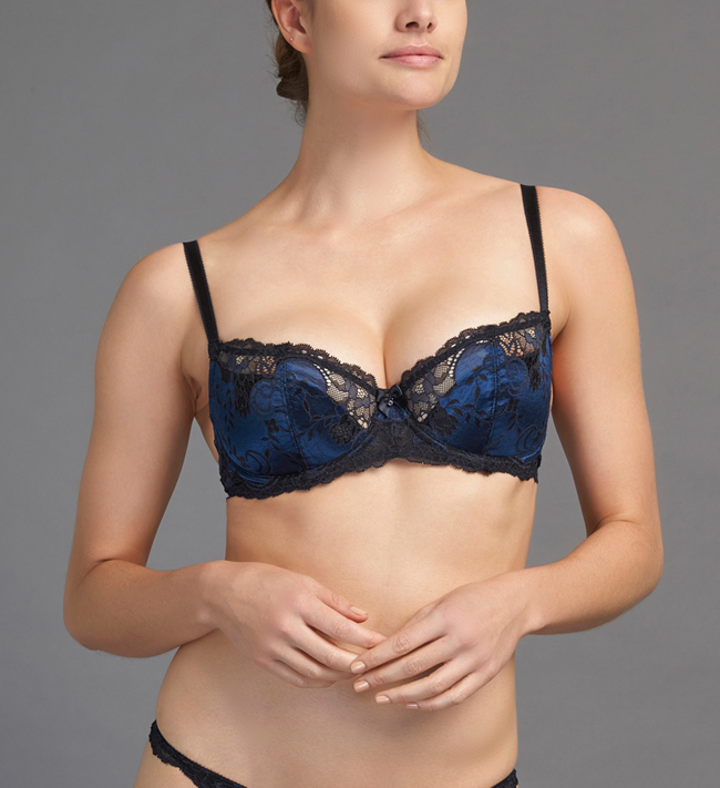 Charade Andriana 3/4 Padded other Deep Blue