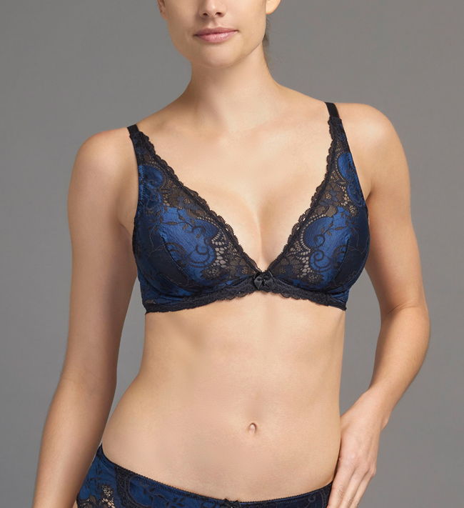 Charade Andriana Low Wire Triangle other Deep Blue