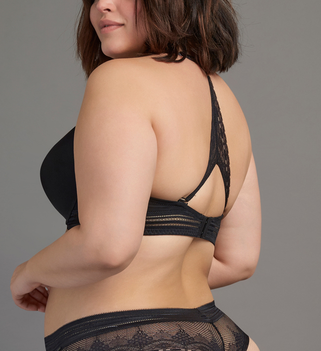 Intimate by Change Zita Seamless Push Up other Black