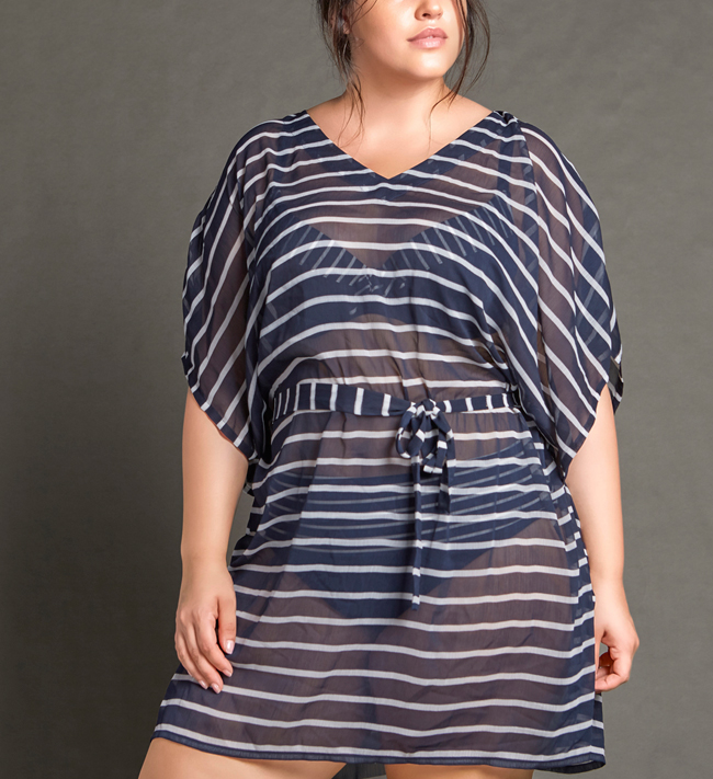 Change Cruise Tunic other Classic Blue Stripe