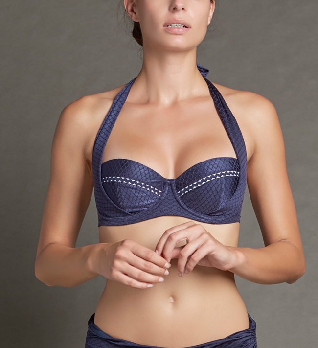Monique Swim Padded With Halterneck