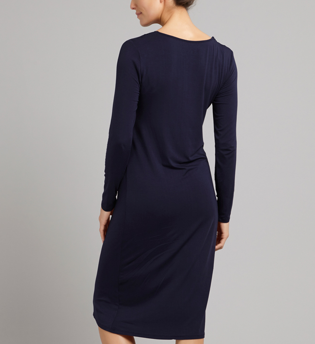 Change Luna Dress L/S other Navy Blue