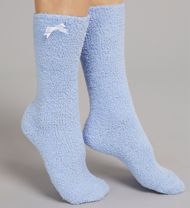 Change Teddy Socks other Cashmere Blue