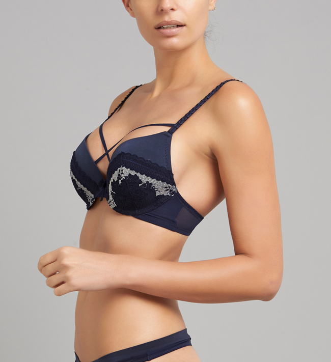 Charade Harlow Seamless Push Up other Midnight Blue W Silver