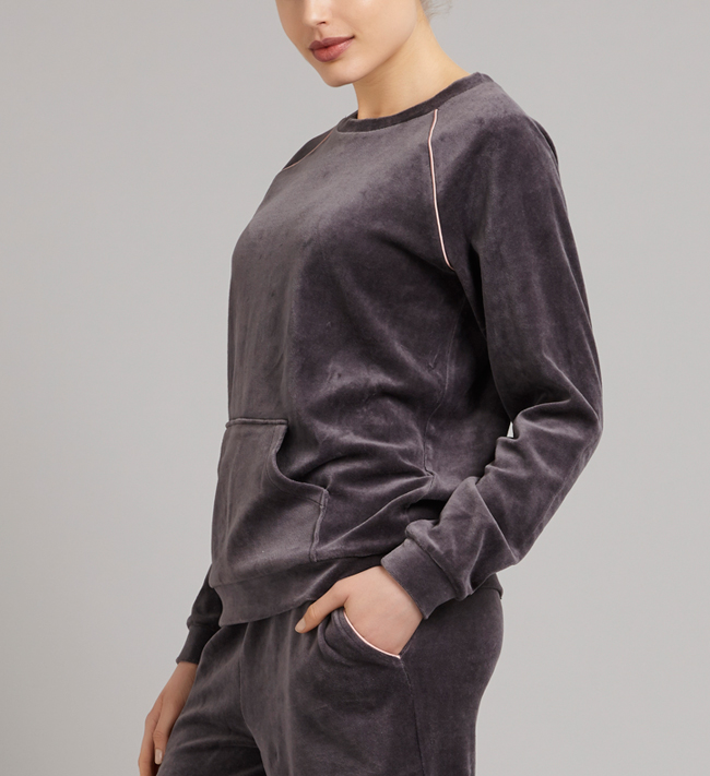 Intimate by Change Eve Sweatshirt other Granite Grey