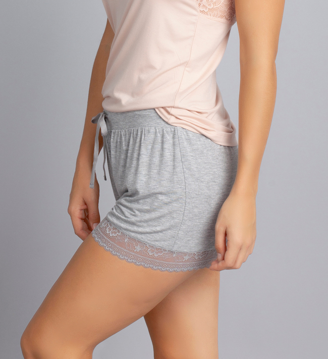 Change Lily Shorts other Light Grey Melange