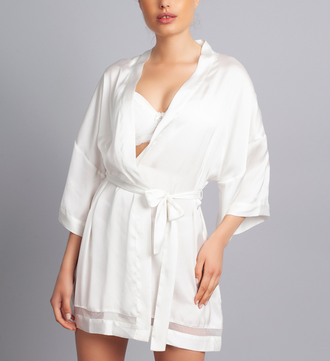 Charade Nadine Kimono other Angel White