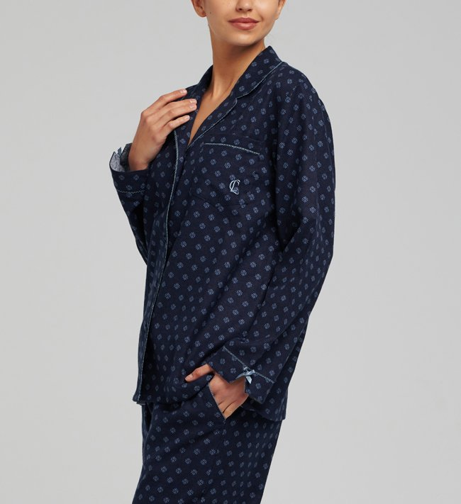 Change Luna Pyjama Shirt other Flower Dots