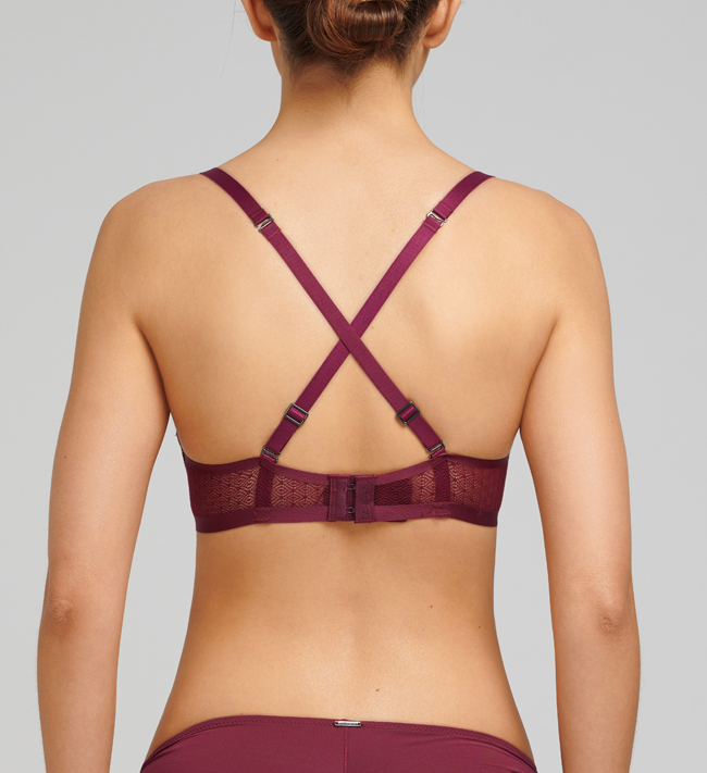 Intimate by Change Cara Seamless Push Up other Winter Berry