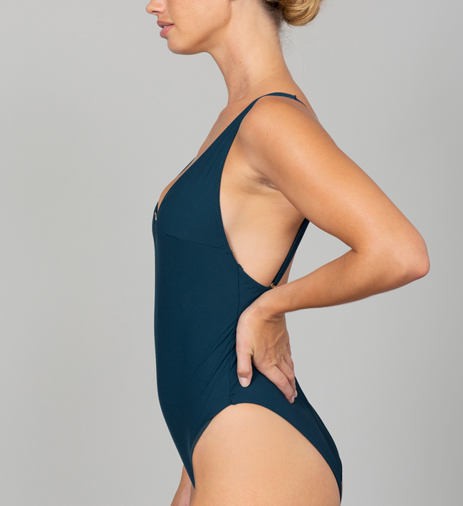 Charade Cardi Swimsuit other Blue Coral