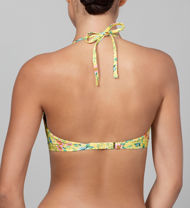 Change Alison Swim Top With Wires bra Daisy Print
