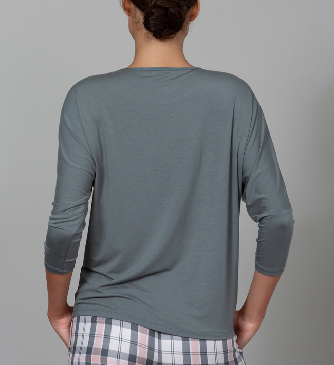 Change Lily Top With 3/4 Sleeve other Pure Green