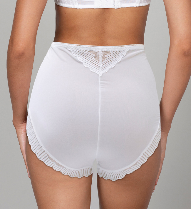 Charade Mariah Hipster High Waist other Angel White