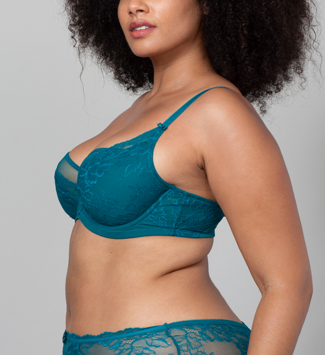 Charade Nellike Full Shaper other Pacific Green