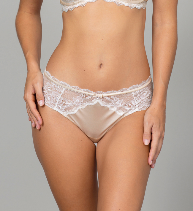 Charade Evelyn Hipster String other Silver Peony With Angel White