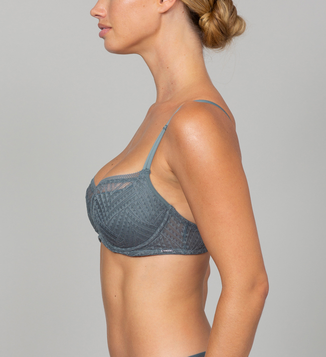 Intimate by Change Lauren 3/4 Padded bra Army