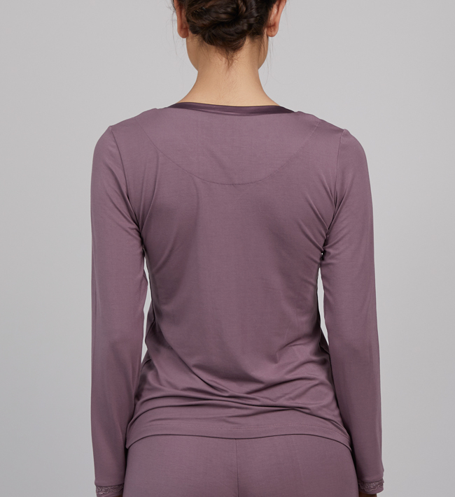 Change Lily T-Shirt L/S other Purple Heather