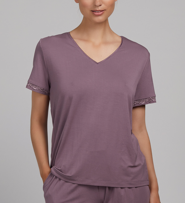 Change Lily V-Top other Purple Heather