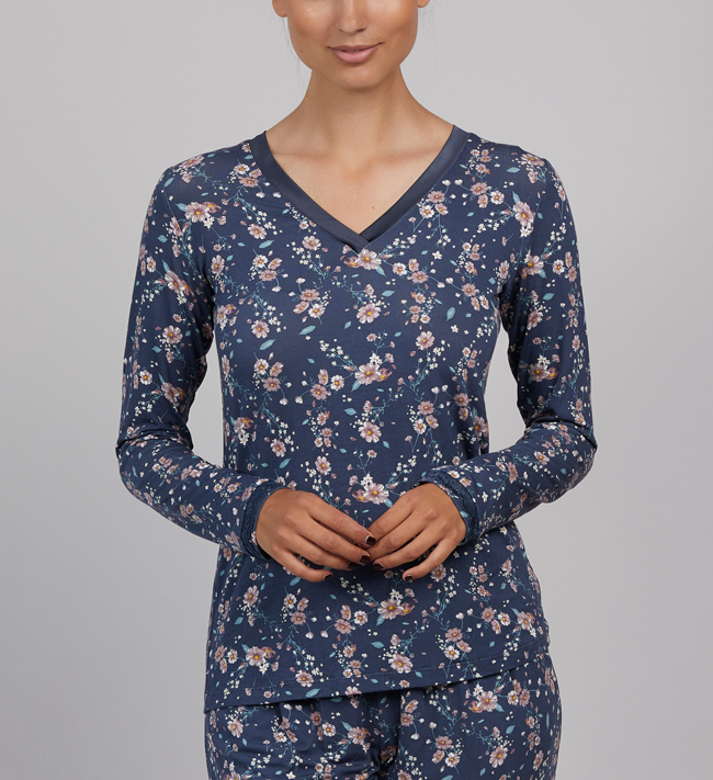 Change Lily T-shirt L/S other Fall Florals