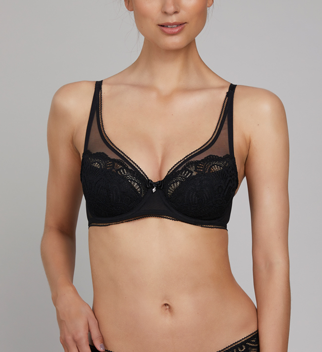 Charade Claire 3-4 Padded other Black