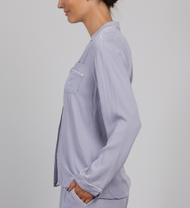 Intimate by Change Viola Pyjama Shirt other Lilac Grey