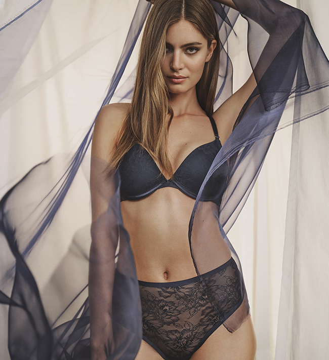 Intimate by Change Alma Hipster String High Waist other Indigo Nights