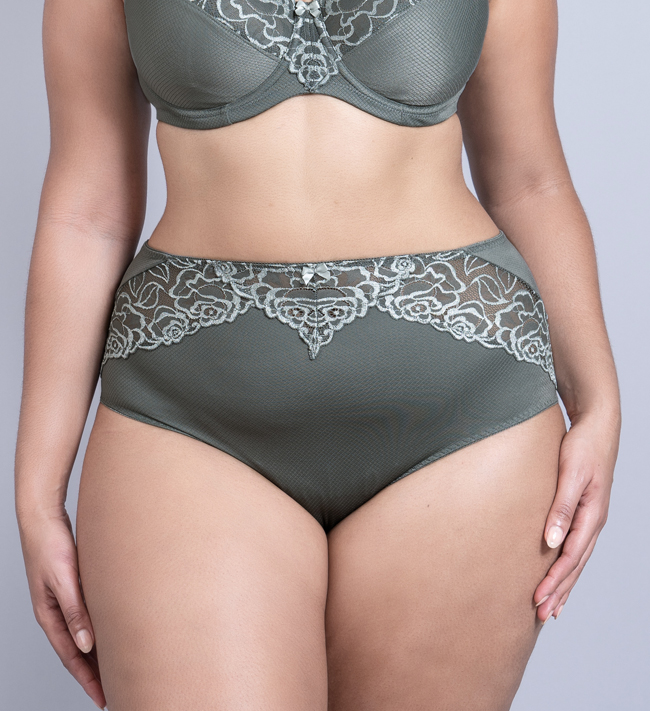 Change Florence Tai High Waist other Army With Silver Green