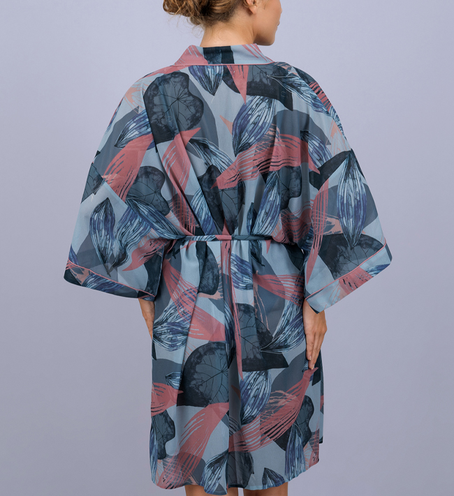 Change Serenity Kimono other Abstract Flower