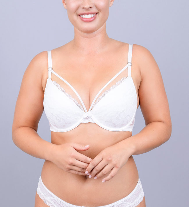 Charade Diane Seamless Push Up other Angel White