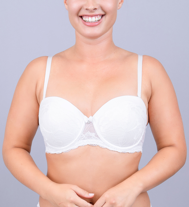 Charade Diane Seamless Stay Up other Angel White