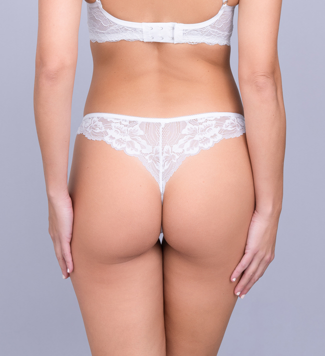 Charade Diane String pants Angel White
