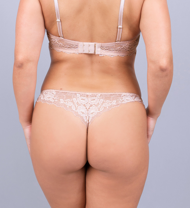 Charade Audrey String pants Pearl Blush
