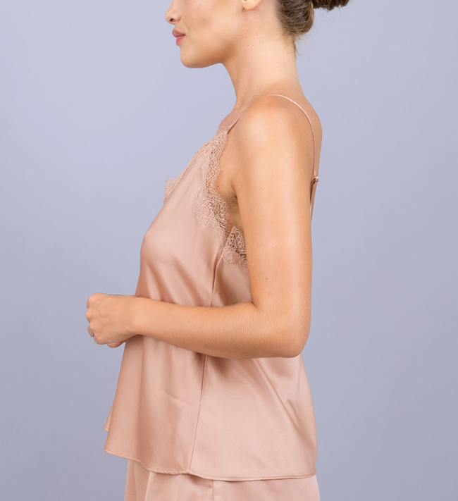 Charade Audrey Camisole other Evening Blush