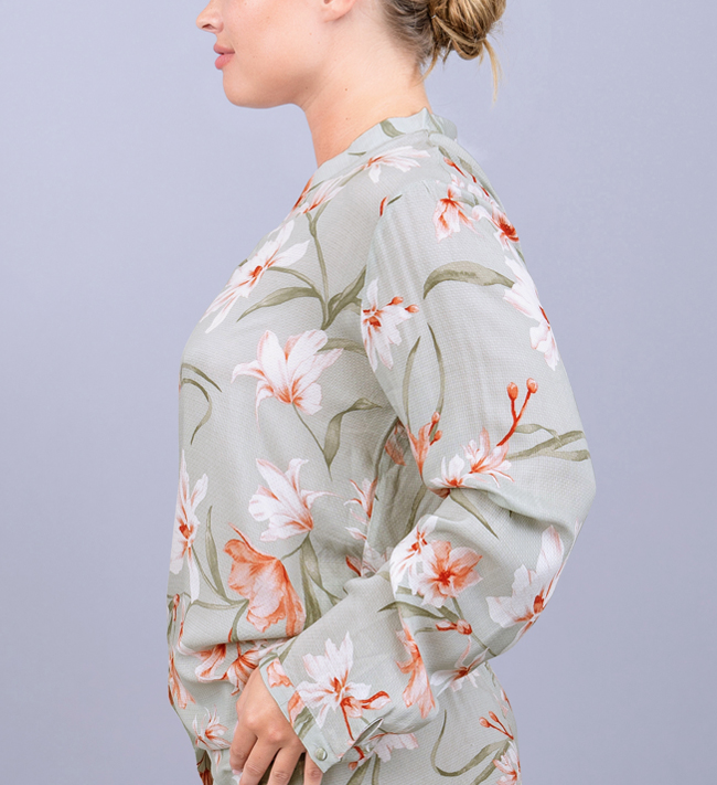 Intimate by Change Viola Pyjama Shirt bra Lovely Upscaled Florals
