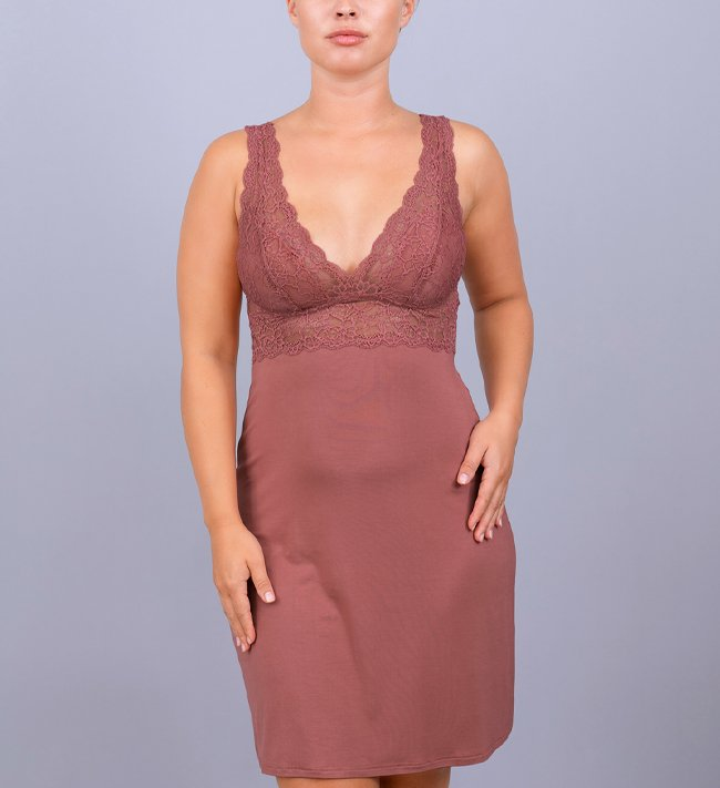 Intimate by Change Melanie Triangle Dress other Withered Rose