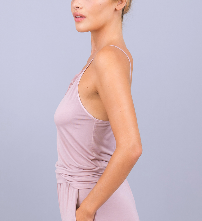 Intimate by Change Riley Strap Top other Deauville Mauve