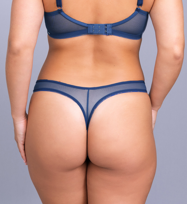 Intimate by Change Erica String High Leg other Liberty Blue