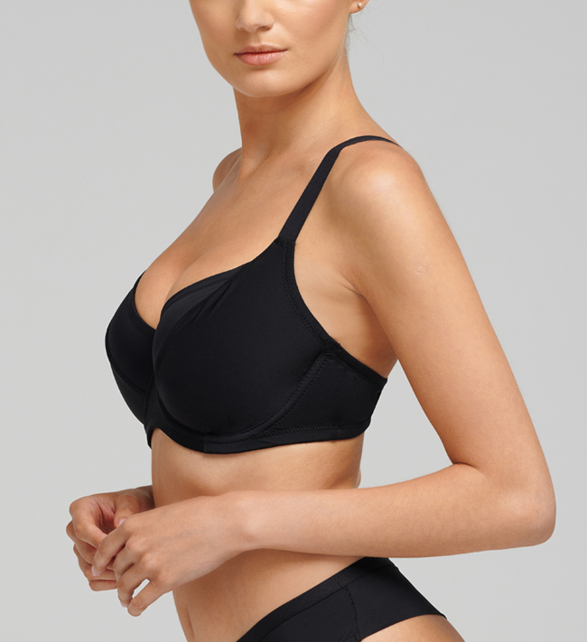 Basic Jasmine Full Shaper bra Black