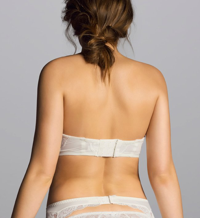 Basic Lissi Strapless Bra other Ivory