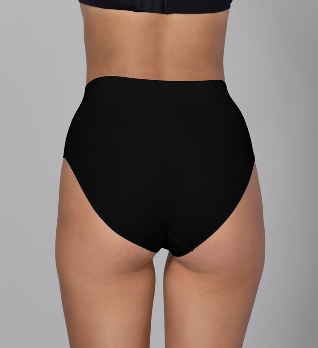 Change Majtki Celine Tai High Waist other Black