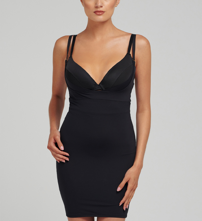 Halka Control Shape Control Chemise other Black