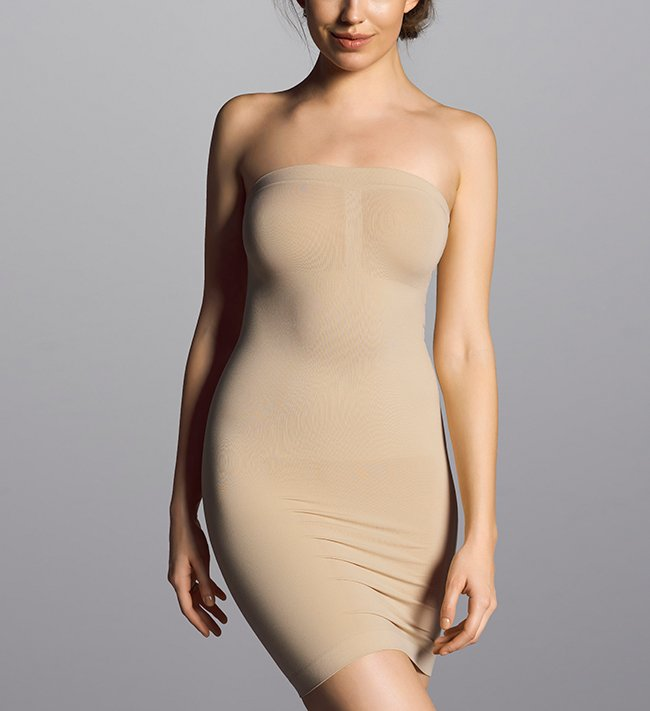 Shape It Strapless Dress