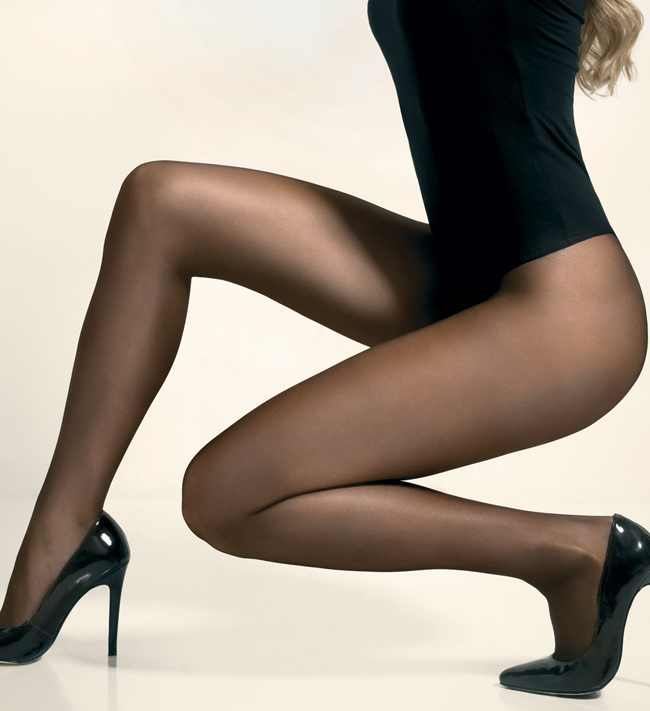 Plain Hosiery Tights 20D