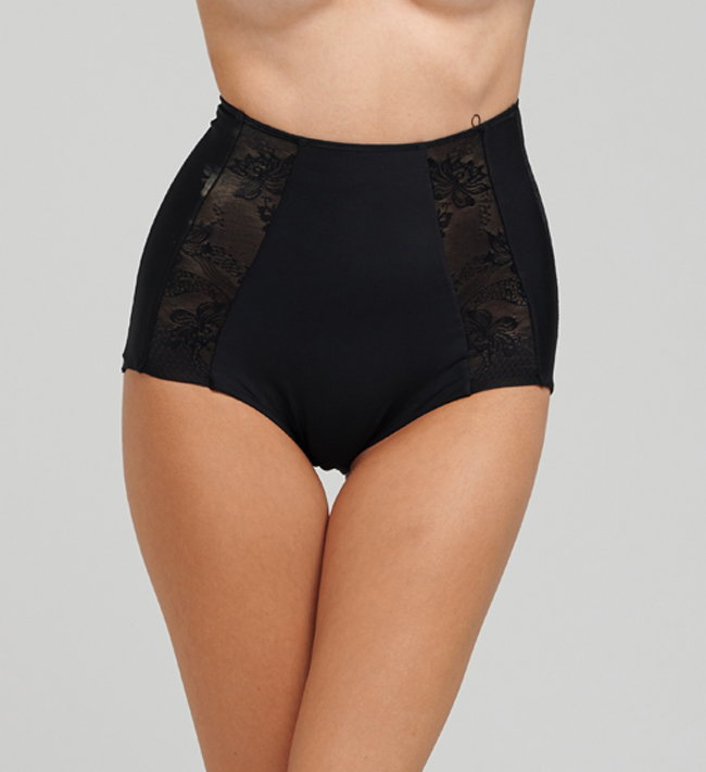 Control Shape Lace Hipster High Waist