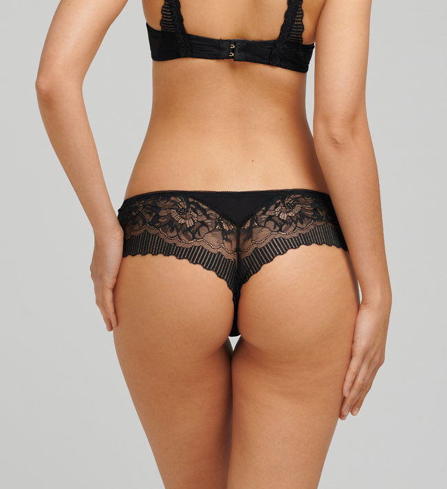 Charade Mariah Hipster String other Black