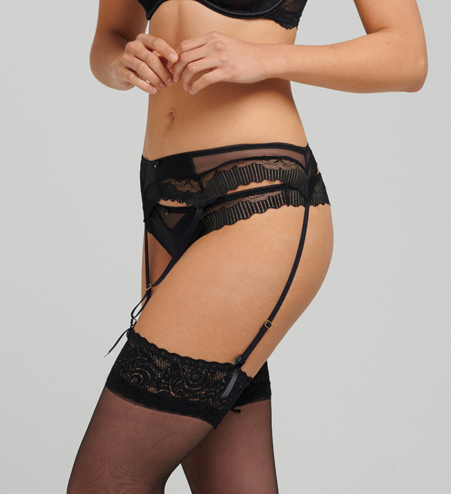 Charade Mariah Suspender other Black