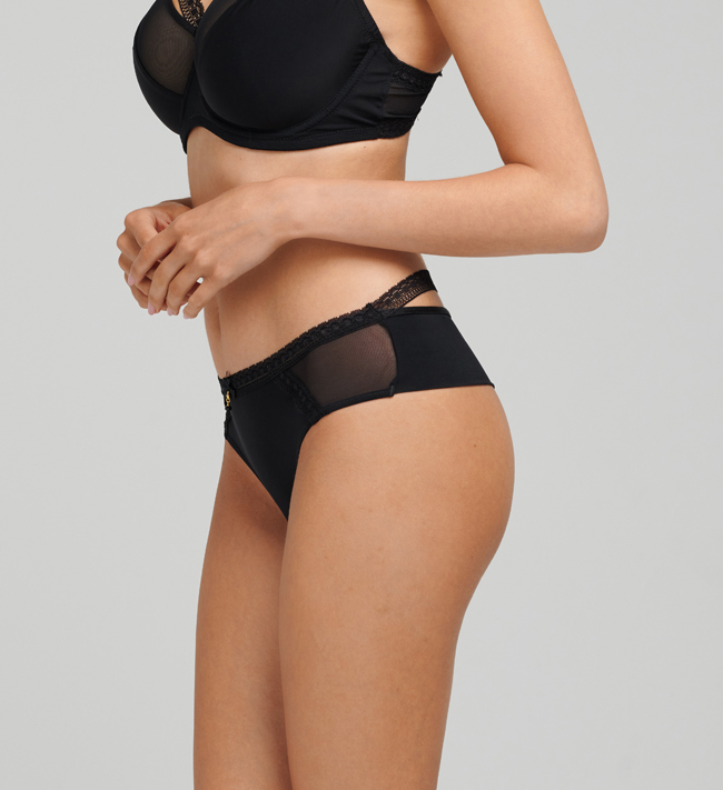 Charade Ibi Hipster String other Black